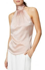Ramy Brook Lori Stretch Silk Halter Top   Nordstrom at Nordstrom