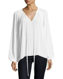 Ramy Brook Paris Top White at Neiman Marcus