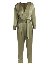 Ramy Brook - Crosby Satin Jumpsuit at Saks Fifth Avenue