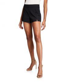 Ramy Brook Adele Slit-Front Shorts at Neiman Marcus