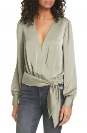 Ramy Brook Analiese Wrap Blouse   Nordstrom at Nordstrom