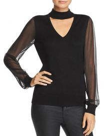 Ramy Brook Ashley Choker Sweater at Bloomingdales