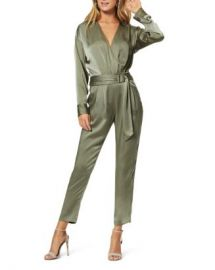 Ramy Brook Crosby Faux-Wrap Belted Jumpsuit Women - Bloomingdale s at Bloomingdales