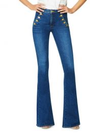 Ramy Brook Helena Mid-Rise Flare Jeans at Neiman Marcus