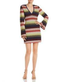 Ramy Brook Jaime Striped Crochet-Lace Dress Women - Bloomingdale s at Bloomingdales