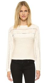 Ramy Brook Jessica Fringe Sweater at Shopbop