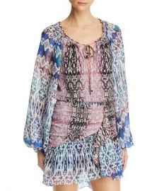 Ramy Brook Kayden Mixed-Print Top Women - Bloomingdale s at Bloomingdales