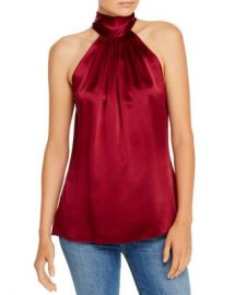 Ramy Brook Lori Silk-Blend Draped Top Women - Bloomingdale s at Bloomingdales