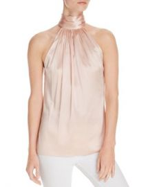 Ramy Brook Paige Halter Silk Top Women - Bloomingdale s at Bloomingdales