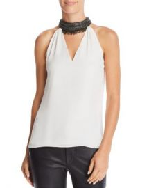 Ramy Brook Raelyn Embellished-Collar Top Women - Bloomingdale s at Bloomingdales