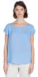 Rancher top in Sunset Blue at Joie