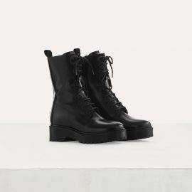 Ranger Style Booties by Maje at Maje