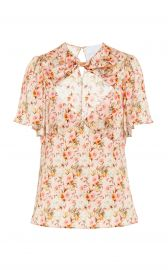 Raphael Floral Twist Front Top by Markarian at Moda Operandi