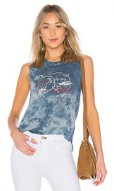 Raquel Allegra El Lay Muscle Tee in Cloud Wash Tie Dye from Revolve com at Revolve