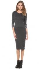 Raquel Allegra Long Sleeve Layering Dress at Shopbop