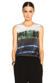 Raquel Allegra Tie Dyed Top at Forward by Elyse Walker