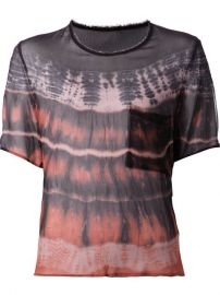 Raquel Allegra Tie-dye Sheer Blouse - Traffic Women at Farfetch