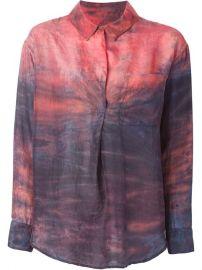 Raquel Allegra Tie-dye Shirt - at Farfetch