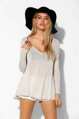 Raw Edge Top at Urban Outfitters