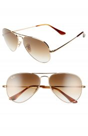Ray-Ban 58mm Aviator Sunglasses   Nordstrom at Nordstrom