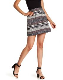 Raych Jacquard Mini Skirt by Ted Baker at Nordstrom Rack