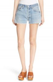 Re Done The Short Repurposed Denim Shorts   Nordstrom at Nordstrom