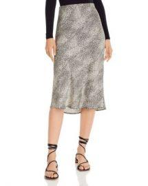 Re Named Animal-Print Midi Skirt Women - Bloomingdale s at Bloomingdales