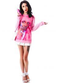 Real Men Wear Pink Sweatshirt by Dimepiece at Dolls Kill