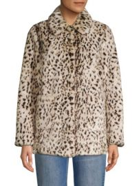 Rebecca Taylor Lynx Faux Fur Jacket at Saks Fifth Avenue