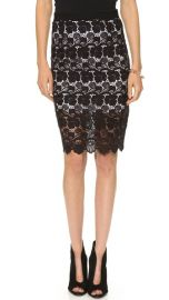 Rebecca Minkoff Angelica Lace Skirt at Shopbop