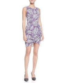 Rebecca Minkoff Colman Printed Wrap-Hem Dress at Neiman Marcus