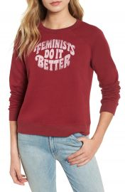 Rebecca Minkoff Jennings Feminists Do It Better Sweatshirt   Nordstrom at Nordstrom