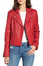 Rebecca Minkoff Wolf Leather Moto Jacket at Nordstrom