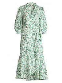 Rebecca Taylor - Emerald Daisy Dress at Saks Fifth Avenue