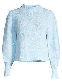 Rebecca Taylor - Optic Tweed Sweater at Saks Fifth Avenue