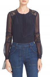 Rebecca Taylor  Sarah  Silk Blouse at Bloomingdales