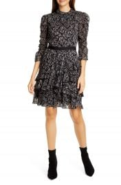 Rebecca Taylor Celia Silk Chiffon Dress   Nordstrom at Nordstrom
