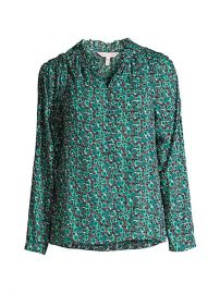 Rebecca Taylor Climbing Roses Blouse at Saks Fifth Avenue