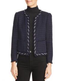 Rebecca Taylor Crochet Tweed Jacket Women - Bloomingdale s at Bloomingdales