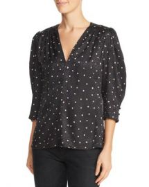 Rebecca Taylor Dot Print Top Women - Bloomingdale s at Bloomingdales