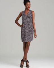 Rebecca Taylor Dress - Sleeveless Leopard Print Silk at Bloomingdales