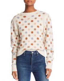 Rebecca Taylor Jacquard Dot Sweater Women - Bloomingdale s at Bloomingdales