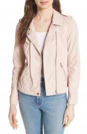 Rebecca Taylor Leather Moto Jacket at Nordstrom