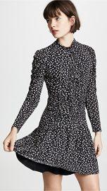 Rebecca Taylor Long Sleeve Cheetah Dress at Amazon