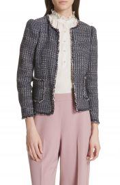 Rebecca Taylor Multi Tweed Jacket   Nordstrom at Nordstrom