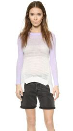 Rebecca Taylor Ombre Pullover at Shopbop