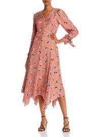 Rebecca Taylor Paintbrush Tie-Detail Floral Dress Women - Bloomingdale s at Bloomingdales