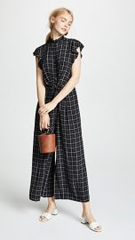 Rebecca Taylor Plaid Jumpsuit at Shopbop