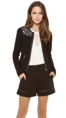 Rebecca Taylor Quilted Jacket at Shopbop