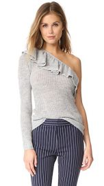 Rebecca Taylor Ruffle Pullover Sweater at Shopbop